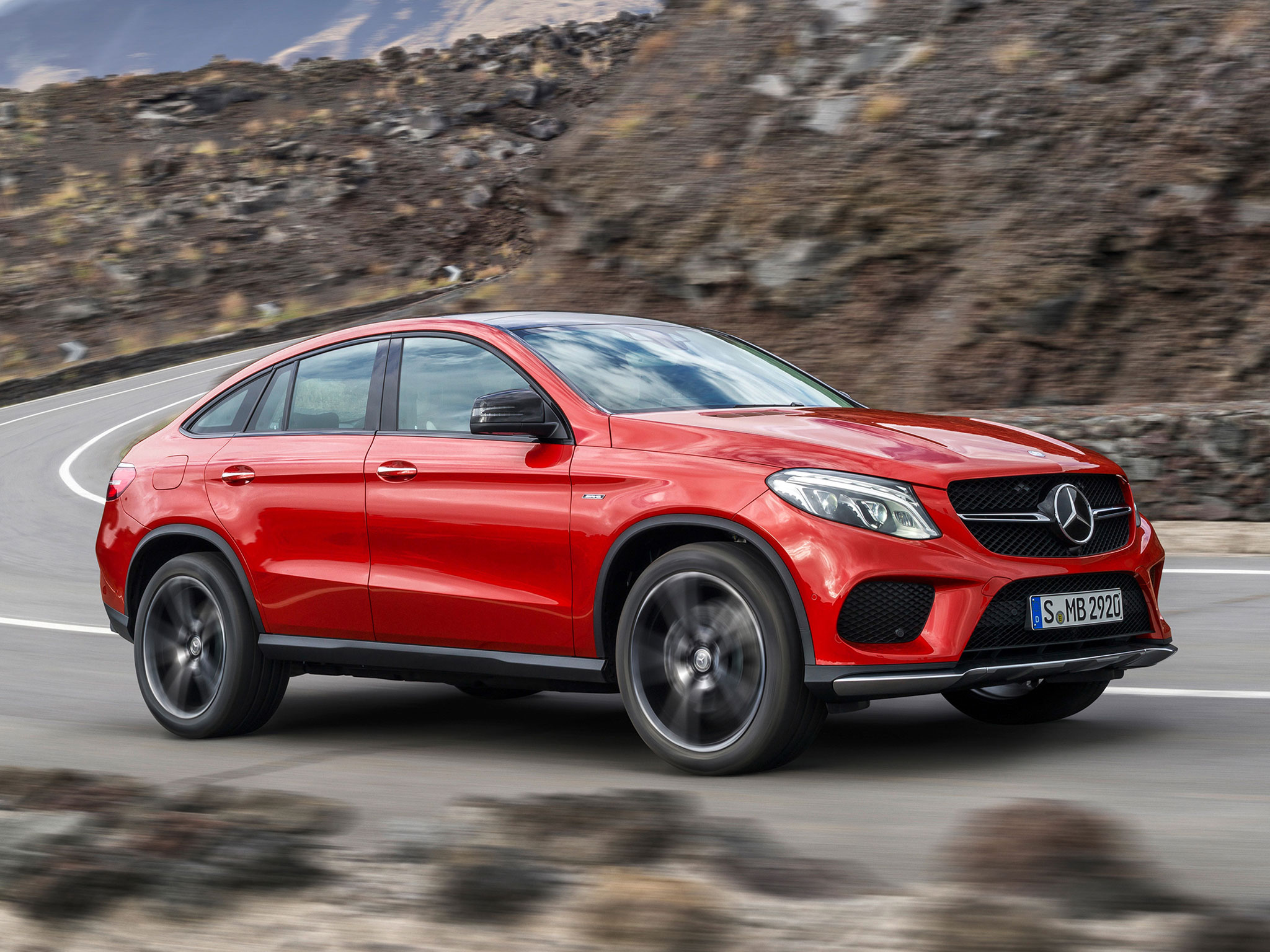 Mercedes-Benz GLE: dominante